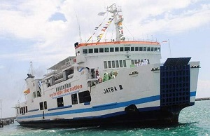 Roll-off ferry