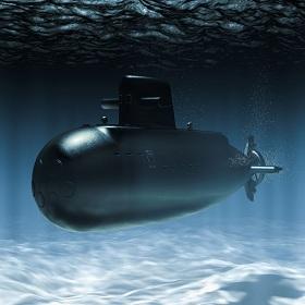 enginelss submarine